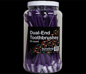 ​Paquet​ ​de​ ​50​ ​Brosse​​​ ​Dents​ ​Double​