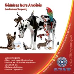 DVD ​R​é​duisez​ ​l​'​Anxi​é​t​é​​ ​de​ ​votre​ ​Animal​ | Reduce your pet's anxiety DVD